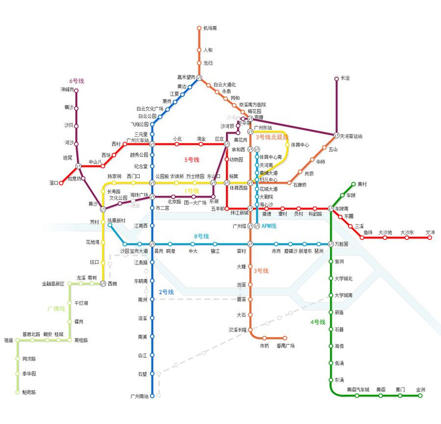 惠州地铁线路图规划图